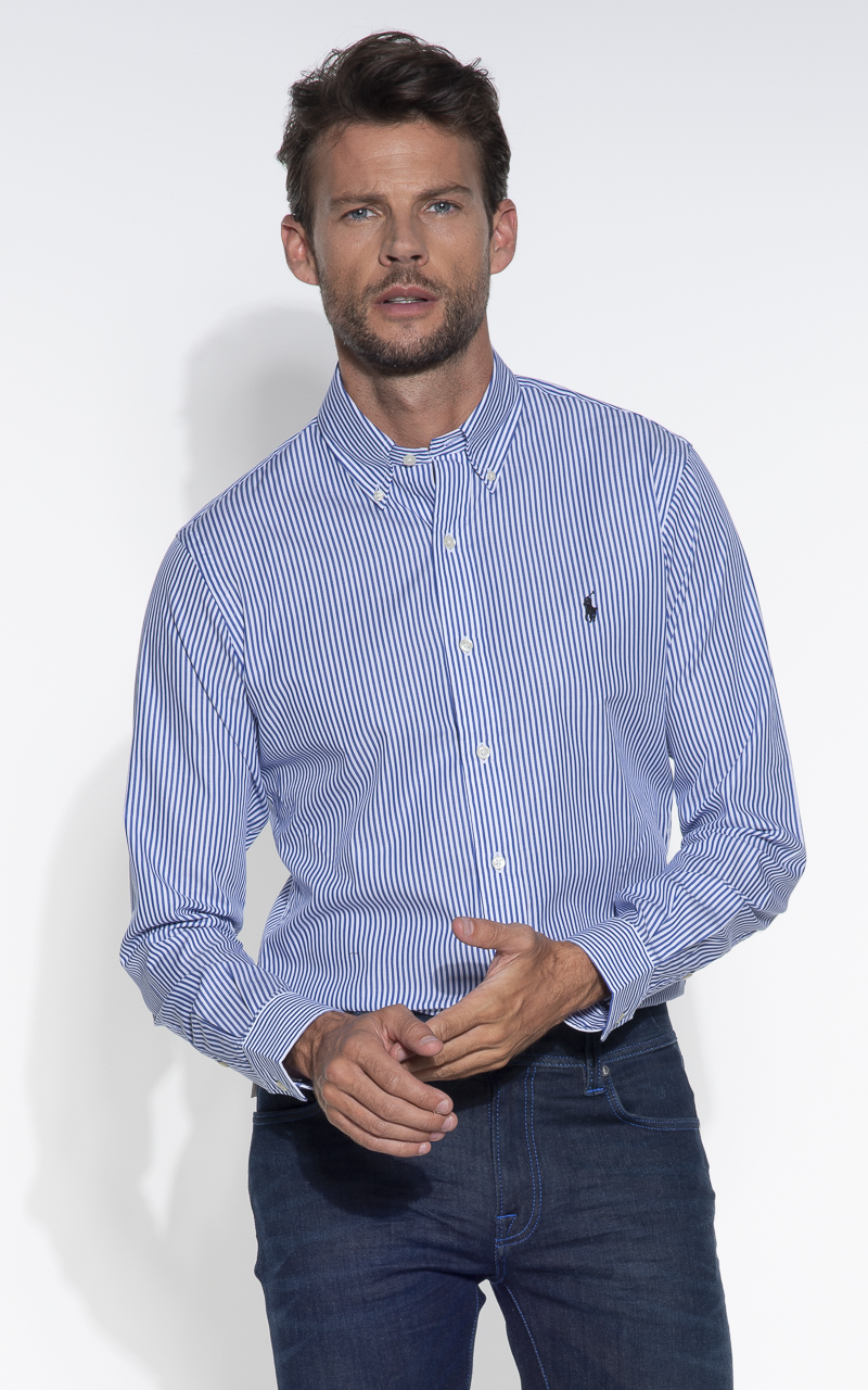 Casual Overhemd Slim Fit.Polo Ralph Lauren Slim Fit Casual Overhemd Lm 705269 Zsc12c Only