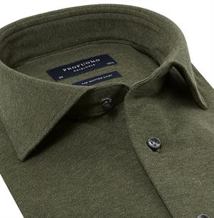 Profuomo Originale Knitted Shirt Overhemd LM