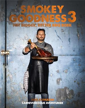 Smokey Goodness 3, the bigger better BBQ boek